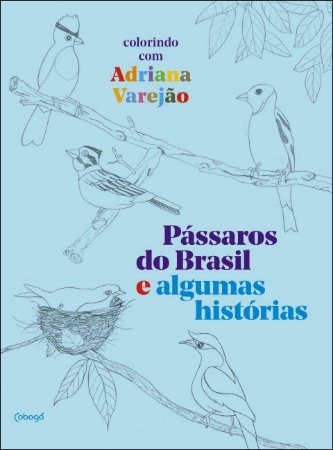 Pássaros do Brasil e algumas histórias: colorindo com Adriana Varejão