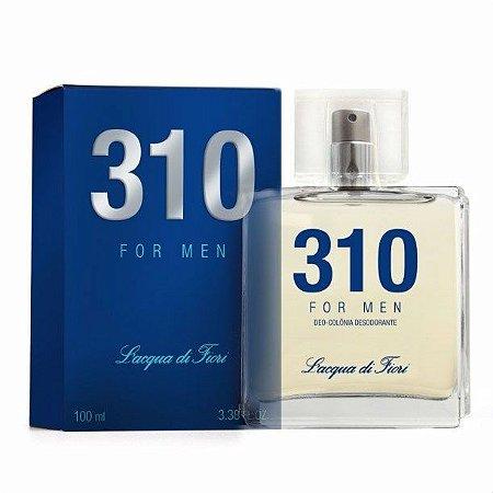Perfume 310 Lacqua di Fiori Masculino 100ML