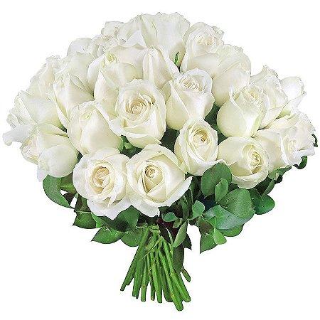 Rosa Branca (Unidade) - Tudo de Bom Cestas e Flores