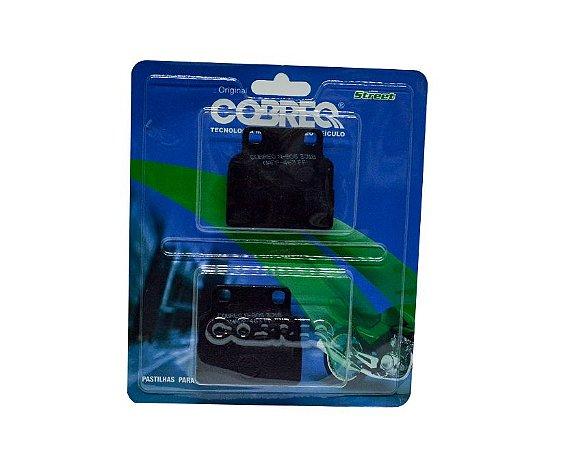 PASTILHA DE FREIO CB 400 / CB 450 DX/SPORT COBREQ