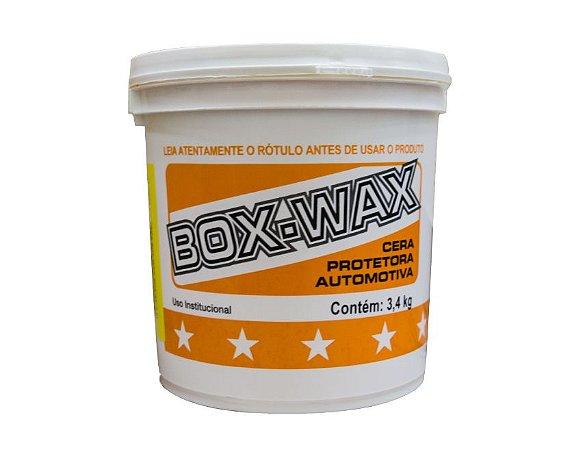CERA AUTOMOTIVA POLIDORA E PROTETORA BOX-WAX 3,4 KG BOX-21