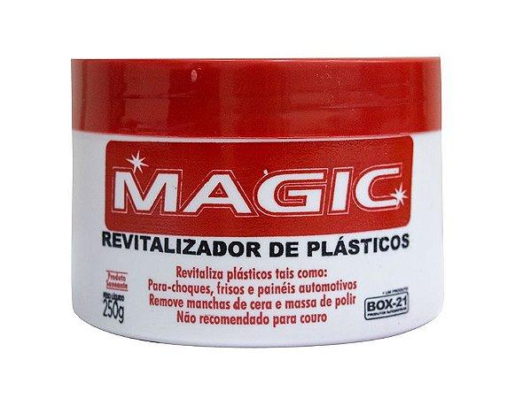 REVITALIZADOR DE PLÁSTICO MAGIC 250G BOX-21