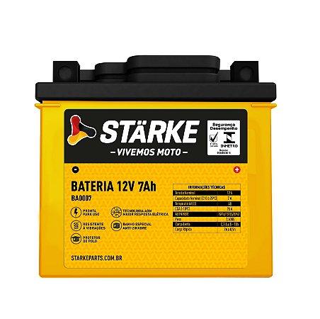 BATERIA DE MOTO 12V 7AH NX 400 FALCON / CBX 250 STARKE