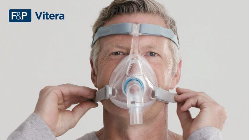 Máscara Facial (Oronasal) Vitera - Fisher & Paykel