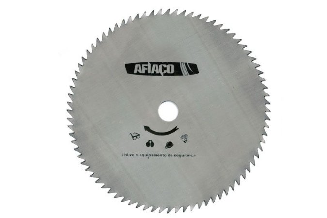 "Disco Afiaço Travado c/80 dentes 255 mm Furo de 1"" 10.1/4"