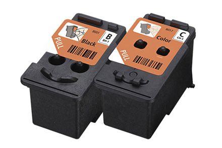Kit de Cabeças de Impressão Preta e Colorida - BH-1 CH-1