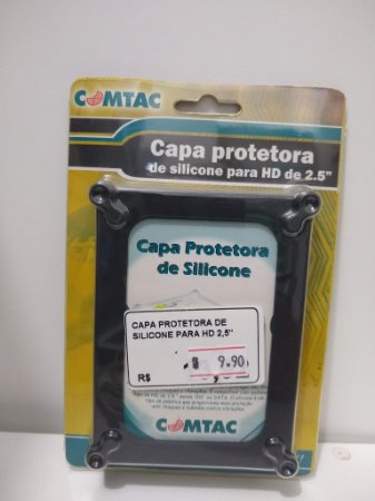 CAPA PROTETORA DE SILICONE HD 2.5'' COMTAC