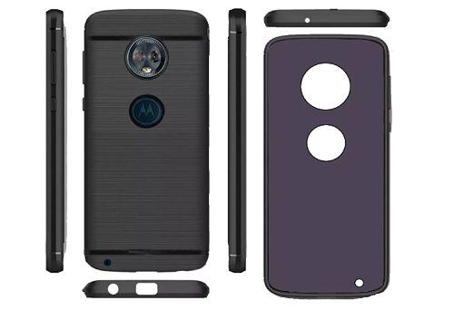 36651056a Capa Flexivel + Película de Gel Motorola Moto G6 Play Tela de 5