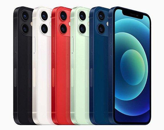 """Apple iPhone 12 A2172 64GB Super Retina XDR de 6.1"""" Dual de 12MP / 12MP iOS -  Original Lacrado na Caixa - 1 Ano de Garantia Apple"""