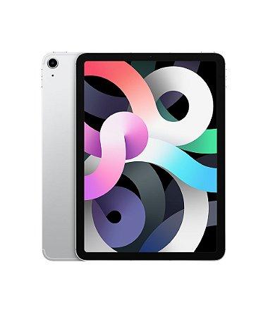 """Apple iPad Air 10,9"""" 256GB - Wi-Fi - 4ª geração - 2020 - Prata"""