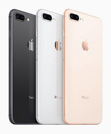 Apple iPhone 8 Plus 128GB - SemiNovo de Vitrine - Tela 5,5