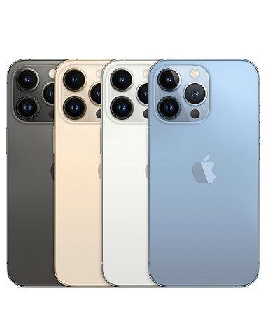 "Apple iPhone 13 Pro 128GB Super Retina XDR OLED de 6.06"" - Câmera Tripla de 12MP iOS - Original Lacrado na Caixa - 1 Ano de Garantia Apple"