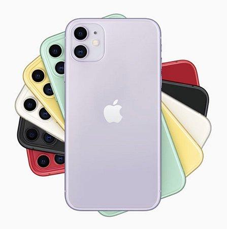 "Apple iPhone 11 64GB - Seminovo de Vitrine - Tela Liquid Retina de 6.1"""