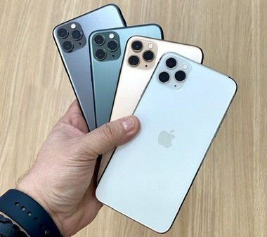 "Apple iPhone 11 Pro Max 256GB Seminovo de Vitrine - Tela Super Retina XDR 6,5"""