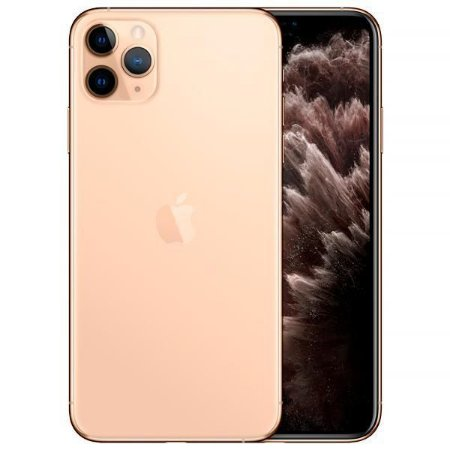 "Apple iPhone 11 Pro Max 64GB Super Retina OLED 6.5"" Tripla 12/12MP iOS - Dourado - Novo Lacrado na caixa - 1 Ano de Garantia Apple."