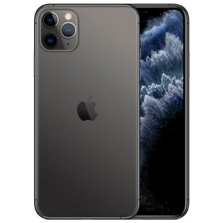"Apple iPhone 11 Pro Max 256GB Super Retina OLED 6.5"" Tripla 12/12MP iOS - Cinza Espacial - Novo Lacrado na caixa - 1 Ano de Garantia Apple."