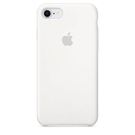Capa de silicone para iPhone 8 / 7 - Branca