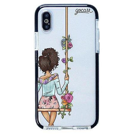Capinha gocase para celular BFF - Floral (Direita) - IPhone XS MAX