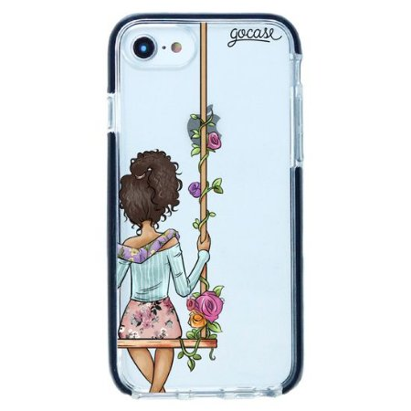 Capinha gocase para celular BFF - Floral (Direita) - IPhone 8