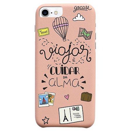Capinha gocase para celular Cuidando da Alma - IPhone 7/8