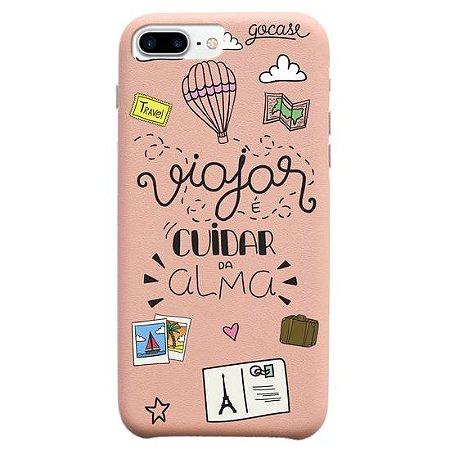 Capinha gocase para celular Cuidando da Alma - IPhone 8 Plus