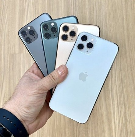 Apple iPhone 11 Pro 256GB - Seminovo de Vitrine - Super Retina OLED 5.8""