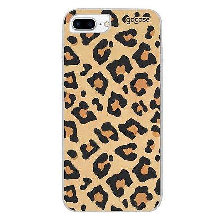 Case Animal Print Onça - iPhone 6/7/8 Plus - Capinha Gocase