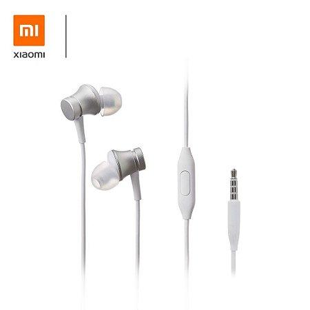 Fone Xiaomi - Mi In-Ear Headphones Basic - Branco - Original Lacrado na Caixa