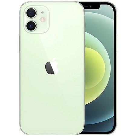 """Apple iPhone 12 A2172 64GB Super Retina XDR de 6.1"""" Dual de 12MP / 12MP iOS - Verde - Original Lacrado na Caixa - 1 Ano de Garantia Apple"""
