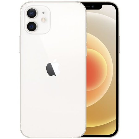 "Apple iPhone 12 A2172 64GB Super Retina XDR de 6.1"" Dual de 12MP / 12MP iOS - Branco - Original Lacrado na Caixa - 1 Ano de Garantia Apple"