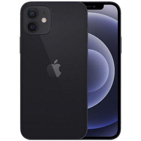 """Apple iPhone 12 A2172 128GB Super Retina XDR de 6.1"""" Dual de 12MP / 12MP iOS - Preto - Original Lacrado na Caixa - 1 Ano de Garantia Apple"""