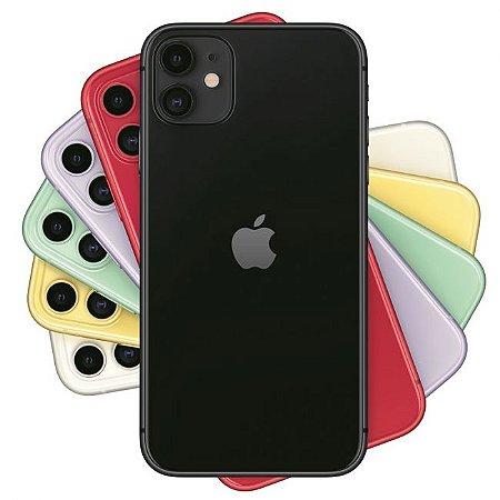 "Apple iPhone 11 128GB Tela LCD de 6.1"" Dual de 12MP / 12MP iOS - Original Lacrado na Caixa - 1 Ano de Garantia Apple"