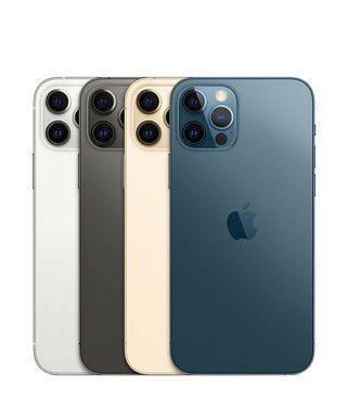 """Apple iPhone 12 Pro 256GB Super Retina XDR OLED de 6.1"""" Dual de 12MP / 12MP iOS - Original Lacrado na Caixa - 1 Ano de Garantia Apple - MGML3BZ/A"""