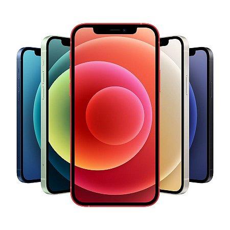 "Apple iPhone 12  64GB - Seminovo de Vitrine - Tela OLED , sem bordas de 6.1"" pol."
