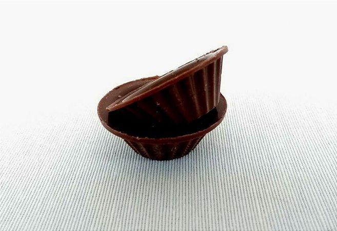 Forminha de Chocolate para Brigadeiros