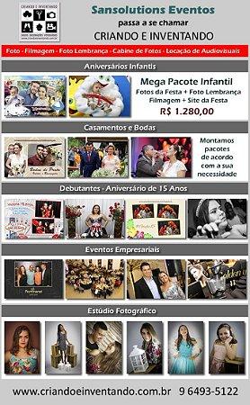 Foto e Vídeo para Aniversários, Casamentos e Debutantes