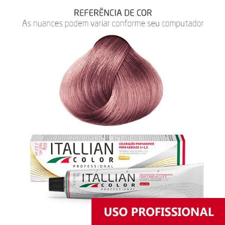 COLORAÇÃO ITALLIAN COLOR PROFESSIONAL 60G LOURO ROSADO UC4 PLUS