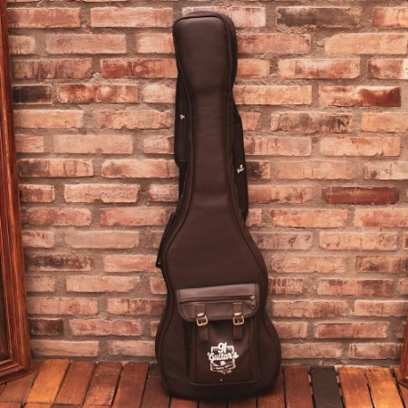 Semi Case Contrabaixo 91 Guitar's 6ª Geração Marrom