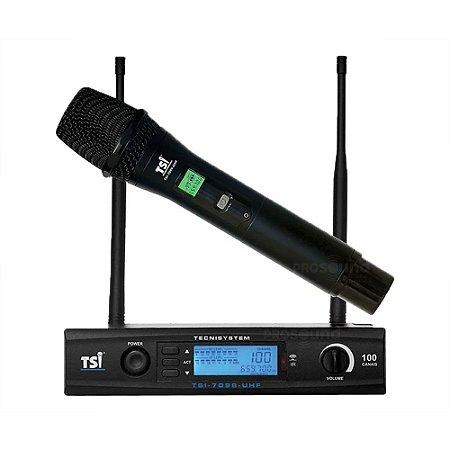 Microfone Sem Fio TSI 7099 UHF