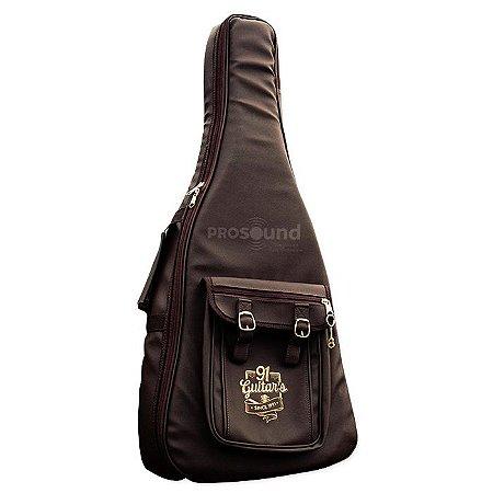 Semi Case Violão Jumbo Guitar's 6ª Geração Marrom