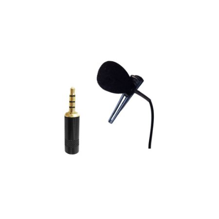 Microfone Lapela P3 Individual para Smartphone New Live