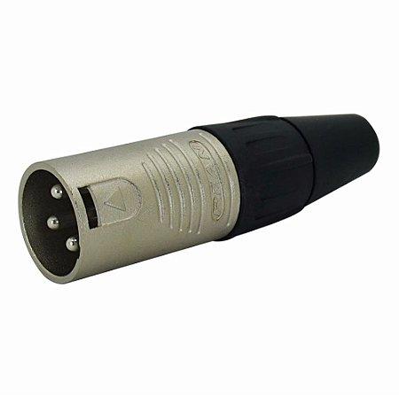 Conector XLR Macho Linha RC3M NEUTRIK REAN