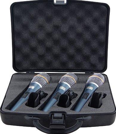 Microfone KADOSH K98 - Kit com 3 peças