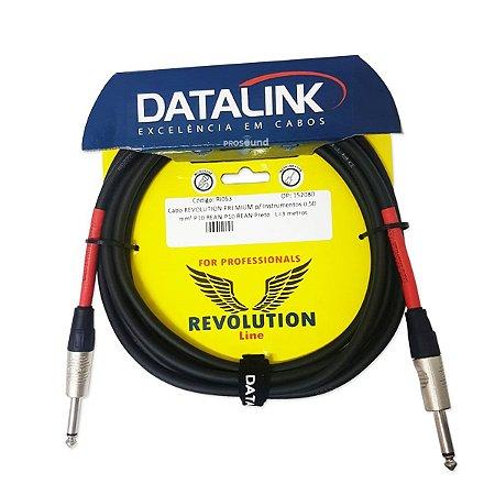 Cabo P10 P10 Datalink Revolution Line 0,50 mm² 3,05 Metros
