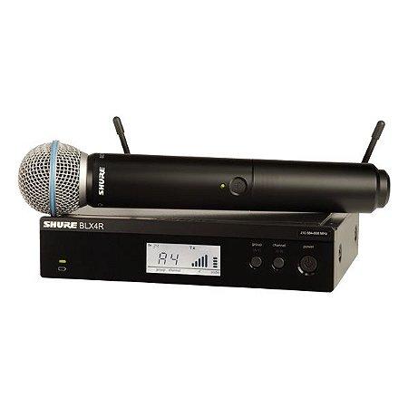 Microfone sem fio SHURE BLX24RBR / BETA58 J10
