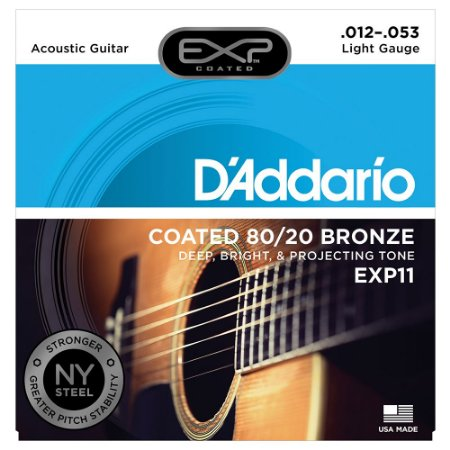 Encordoamento Violão Aço D'Addario EXP11 012