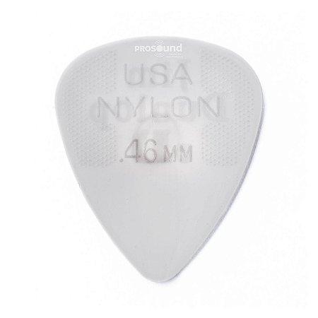 Palheta Dunlop Nylon USA Jim 0,46 mm Creme