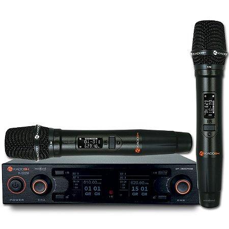 Microfone Sem Fio K 502 M Kadosh
