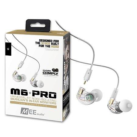 Fone de Ouvido Mee Audio M6 PRO 2ª Geração Clear