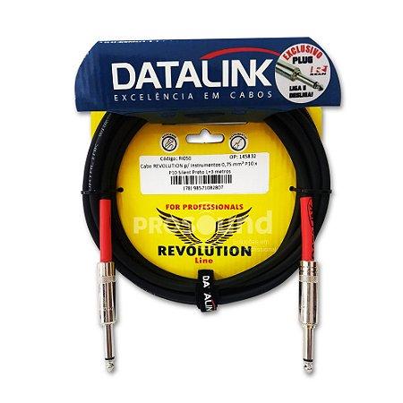 Cabo P10 P10 Datalink Revolution Line Silent 0,75 mm² 3 metros